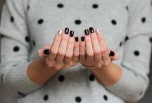 Nails / Nails nail art hands Essie Opi Chanel