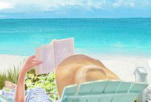 Beach Reading / What's more perfect than reading your favorite book on the beach?