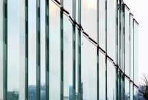 Bird Safety Glass / SEFAR Architecture VISION fabric laminated in glass for glass facades, glass fins or louvers. Due to it's structure it's a big advantage for bird protection.
