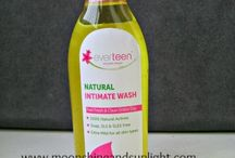 Review by Priyanjana / Well, for me it is number one and I was delighted when  recently received this wonderful product  from Wet and Dry Personal Care Pvt. Ltd based in Delhi. And I gave this a try. I was already using my normal medicated wash before this , but I have to say this made me shift! Everteen Natural intimate wash is 100% natural , pH balanced intimate wash.