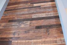 Mur en bois
