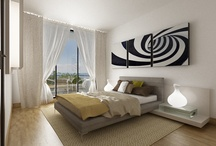 Amenajare apartament Exclusive Residence / Conceptul acestui spatiu urmareste o linie curata si moderna a interiorului, minimalist, cu efecte puternice. Clientul s-a situat intr-un concept cromatic foarte echilibrat si clar:alb, negru si mici accente de vernil. Luminozitatea puternica a spatiului , cat si existenta unui plan deschis au permis fluenta si flexibilitate in amenajare, rezultand un spatiu coerent, functional si placut vederii.