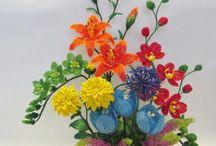 cesta fiori