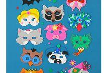 masques de carnaval à faire soi-même