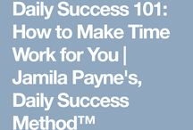 http://dailysuccessroutine.com/daily-success-101-how-to-make-time-work-for-you/