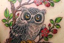 Tattoo: Owl