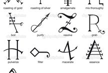 símbolos alquímicos