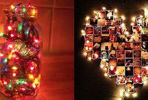 Χριστουγεννιάτικη διακόσμηση με φωτάκια / Τα χριστουγεννιάτικα λαμπάκια δεν προορίζονται μόνο για το δέντρο! Δείτε μερικές πρωτότυπες ιδέες διακόσμησης για όλο το σπίτι!