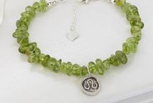 august jewellery with peridot