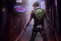 Perso Cyberpunk / by Vincent Bezençon