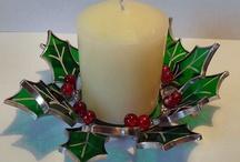 Glas in lood kerst