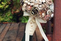 My inspirations / Broochbouquets