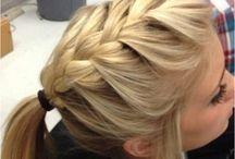 Hair styles- up dos / by Hannah G