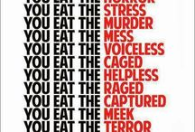 WHEN YOU EAT MEAT