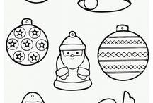 Kleurplaten Kerst