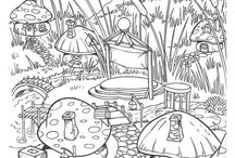 Coloring pages Smurfen