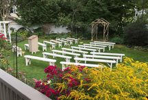 Vermont Weddings / Photos of Vermont outdoor wedding and receptions. / by Phineas Swann Bed & Breakfast Inn