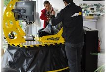 ellip6 à Colmar = RacingCars simulators / Présentation de RacingCars Simulators basé à Colmar. Local privé sur réservation et location de simulateurs.