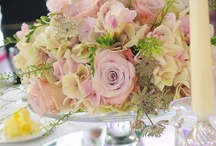 Table centres / Floral table centres for weddings and events