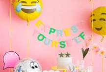 Party emoji theme