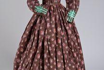 1860's Female Clothing / by Nadine Baylis