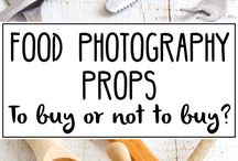 Food photography props