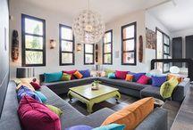 interior design / architettura d'interni di impronta contemporanea