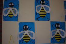 zoem de bij / bijen