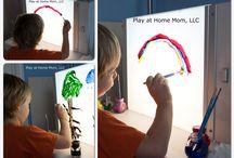 Light box Activity Ideas
