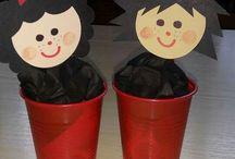 výrobky s dětmi advent