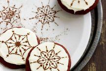 Новый год печенье