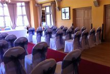 Hare & Hounds Hotel, Tetbury / Chair covers and sashes for weddings and events