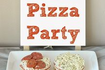 Mini Pizza Party / Fun for the whole family to make together at dinner, for an after school snack, a kid's party, during the big game or in a college dorm room. / by Family Finest