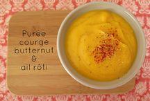Courges et compagnie / C'est l'automne, vive les recettes à base de courges, butternut, potirons & potimarrons #courges #butternut #fall #automne