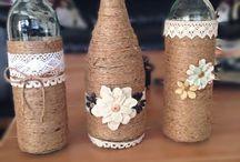 bottiglie barattoli