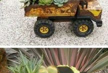 Old Toys / Awesome Planters