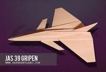 Tutorial Origami Pesawat