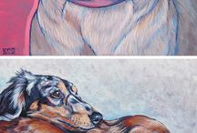 Pinturas de animales y mas! / Obras de Arte.