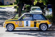 Renault 5 Turbo2 keltamusta / Renault 5 Turbo cars