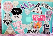 stick it on laptop X collage tumblr stickers <3 / by jeep phayungsuwan