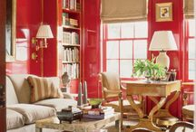 Red-My Favorite Color / Red at its best .Go and make your home beautiful. #RedRoom #RedDecor