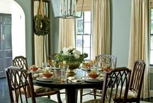 Dining rooms and table settings / by Debbie Wallace