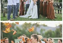 Orange Autumn wedding inspiration
