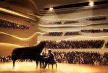 Auditoriums. Concert Halls