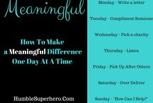 Humble Superhero - General / Life Tips for Busy Moms