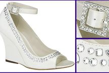 Bridal Shoes  / Many of these styles are carried at Sabrina Ann Bridal. Sample wedding shoes at a discounted price. Visit our website www.sabrinaann.com or stop in our boutique. We are located on the heart of the Main Line right outside of Philadelphia.