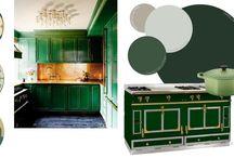 Colors We Love / Inspiration | Color Schemes | Interior Design