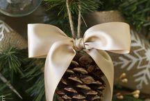 White & Brown Christmas