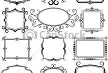 Ornamente vectoriale