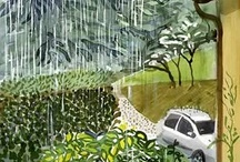 Hockney-Βροχή